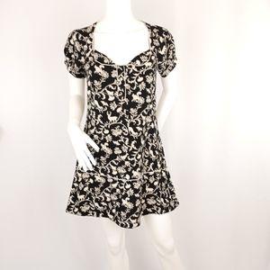 Kimchi Blue Shortsleeve Print Dress